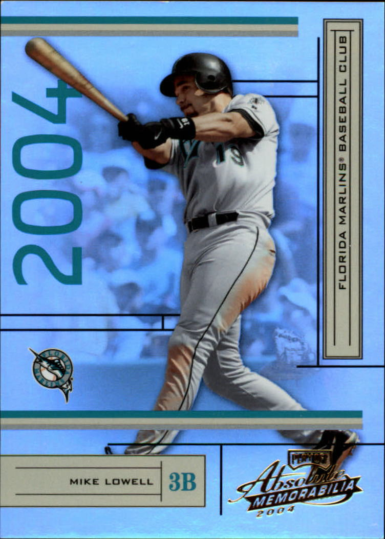 2004 Absolute Memorabilia #80 Mike Lowell