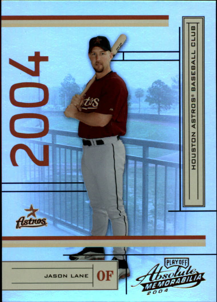 2004 Absolute Memorabilia #90 Jason Lane