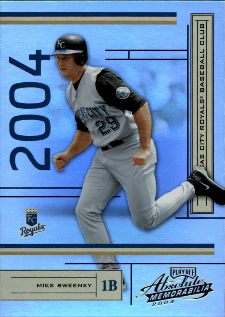 2004 Absolute Memorabilia #92 Mike Sweeney