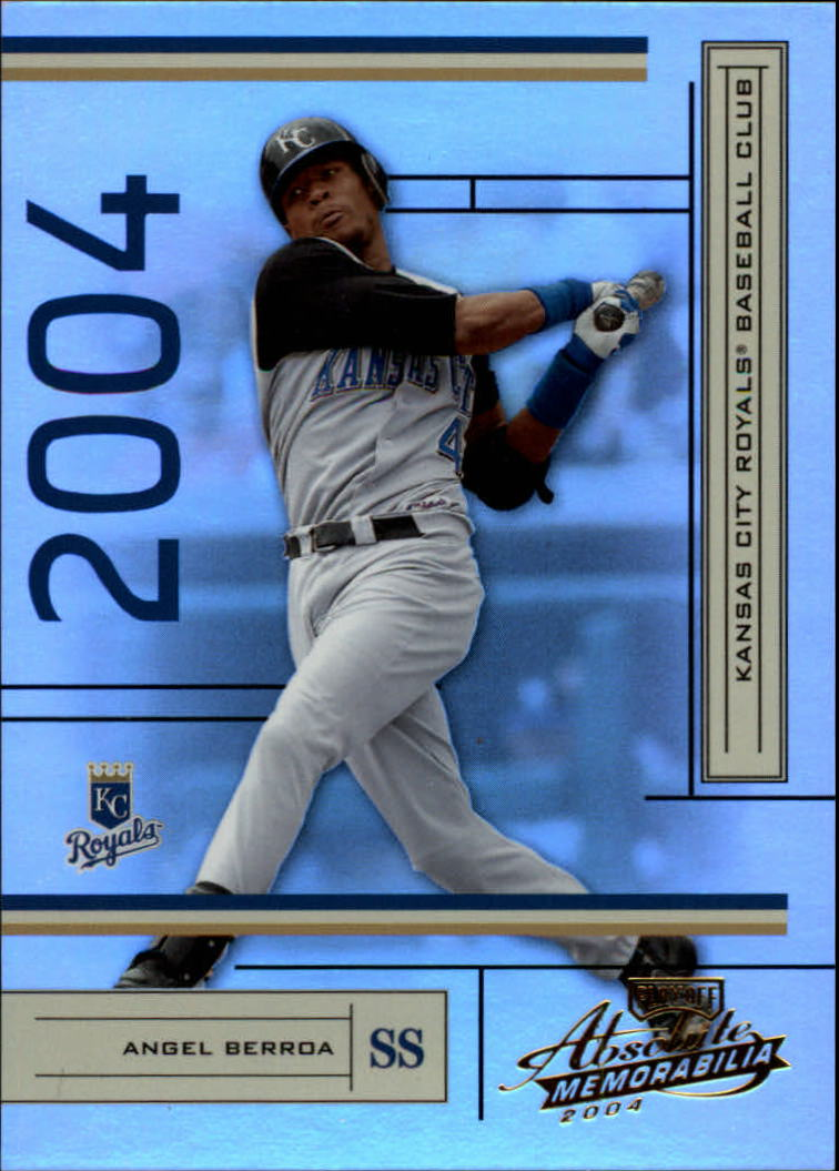 2004 Absolute Memorabilia #94 Angel Berroa