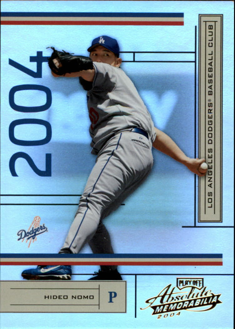 2004 Absolute Memorabilia #102 Hideo Nomo