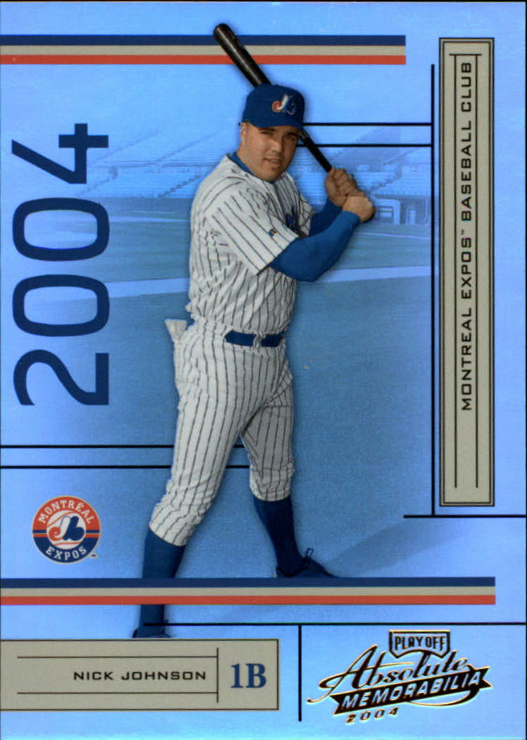 2004 Absolute Memorabilia #124 Nick Johnson