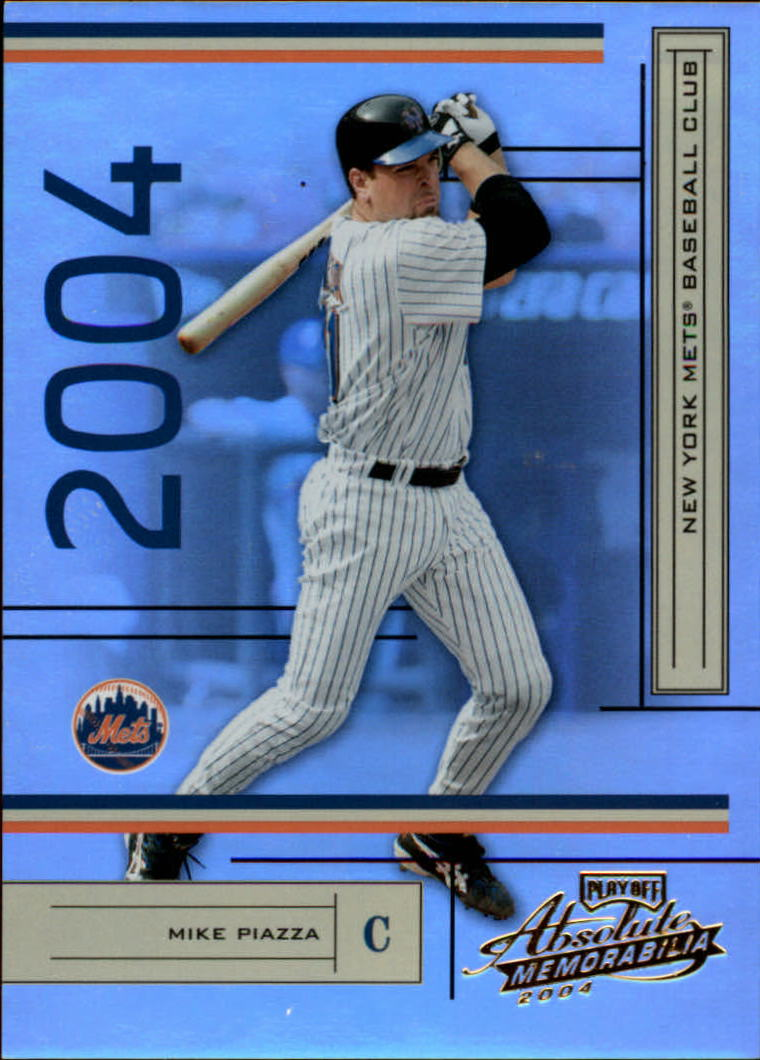 2004 Absolute Memorabilia #128 Mike Piazza