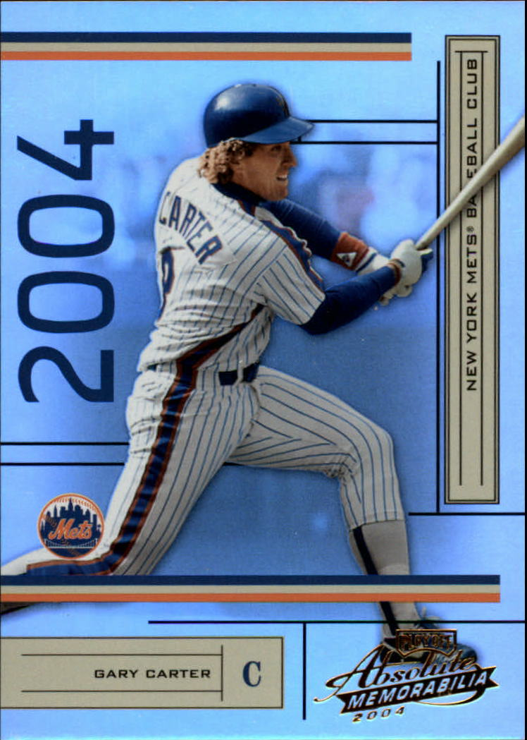 2004 Absolute Memorabilia #131 Gary Carter