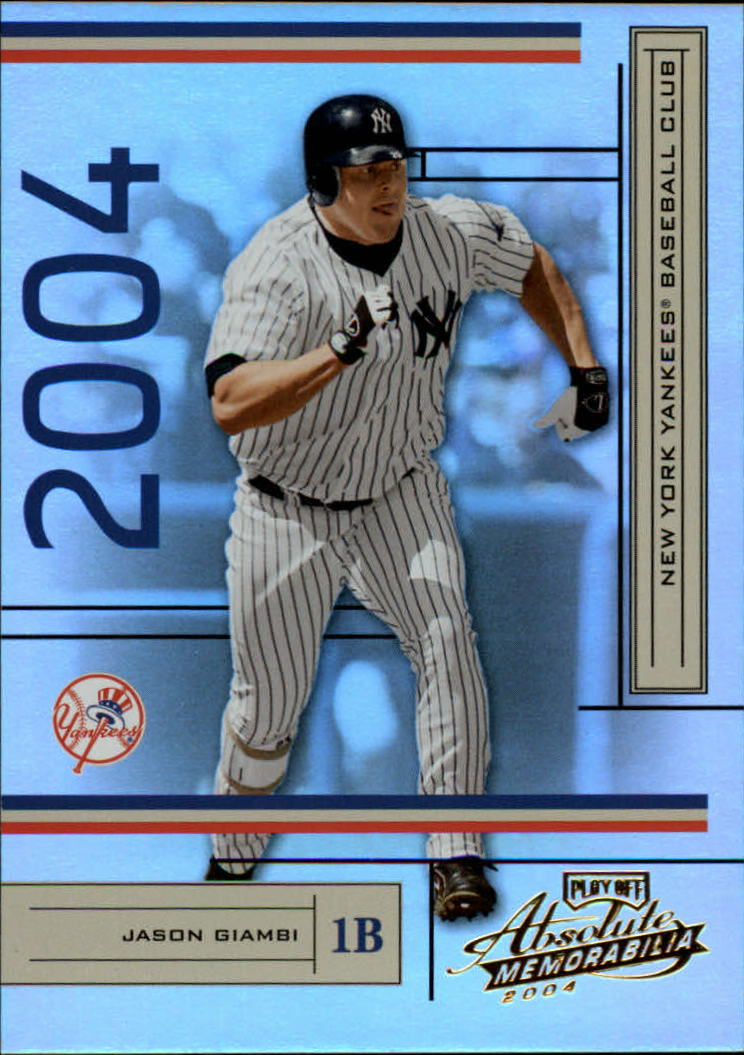 2004 Absolute Memorabilia #137 Jason Giambi