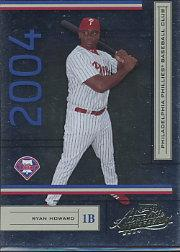 2004 Absolute Memorabilia #162 Ryan Howard