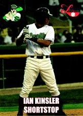 2004 Midwest League All-Star Rockwell Collins #31 Ian Kinsler