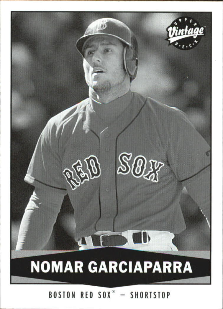 2004 Upper Deck Vintage Black and White #4 Nomar Garciaparra
