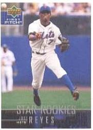 2004 Upper Deck First Pitch #3 Jose Reyes SR