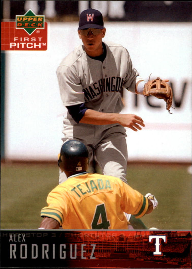 2004 Upper Deck First Pitch #85 Alex Rodriguez