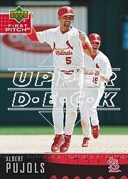 2004 Upper Deck First Pitch #160 Albert Pujols