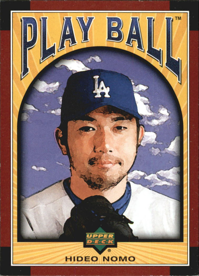 2004 Upper Deck Play Ball #1 Hideo Nomo