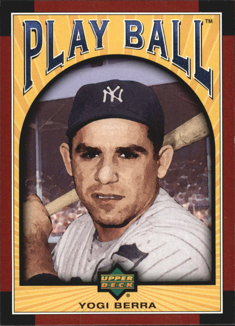 2004 Upper Deck Play Ball #5 Yogi Berra