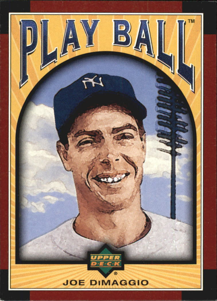 2004 Upper Deck Play Ball #16 Joe DiMaggio