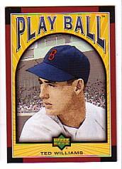 2004 Upper Deck Play Ball #30 Ted Williams