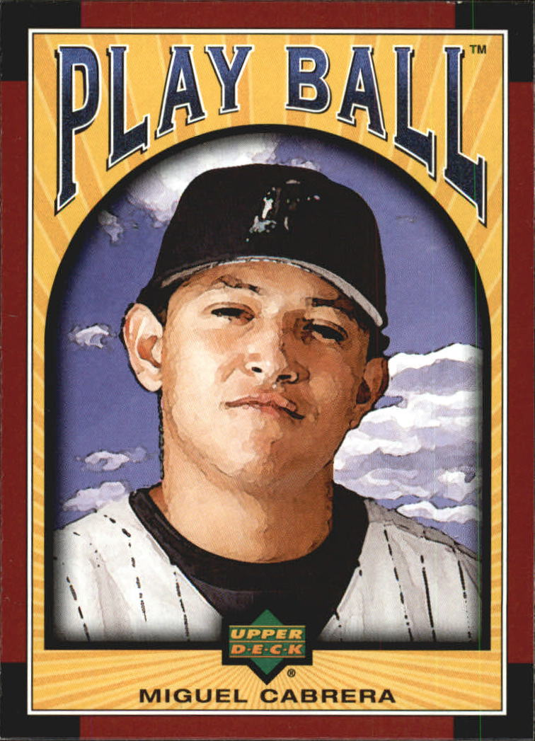 2004 Upper Deck Play Ball #65 Miguel Cabrera
