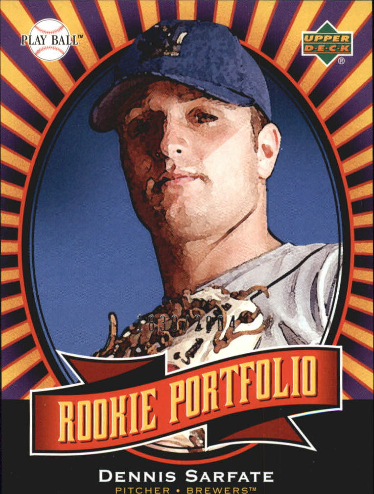 2004 Upper Deck Play Ball #136 Dennis Sarfate RP RC