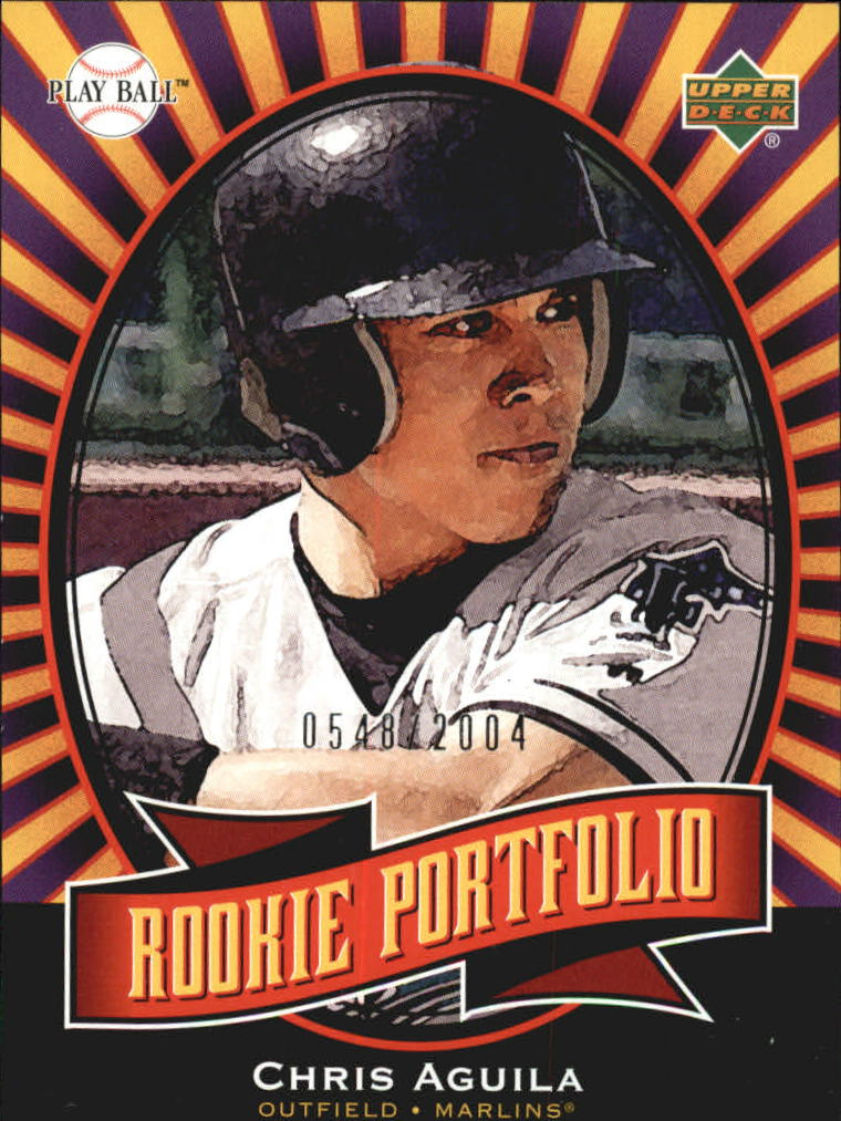 2004 Upper Deck Play Ball #139 Chris Aguila RP RC