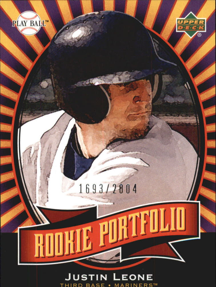 2004 Upper Deck Play Ball #150 Justin Leone RP RC