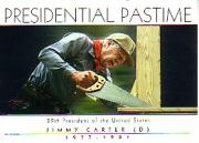 2004 Topps Presidential Pastime #PP38 Jimmy Carter
