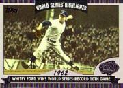 2004 Topps World Series Highlights #WF Whitey Ford 2
