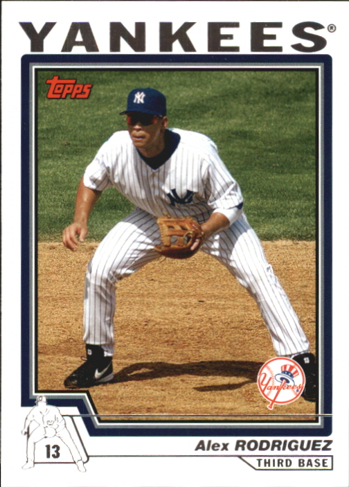 2004 Topps Traded #T50 Alex Rodriguez