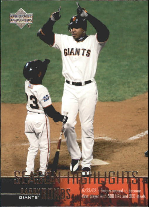 2004 Upper Deck #262 Barry Bonds SH CL