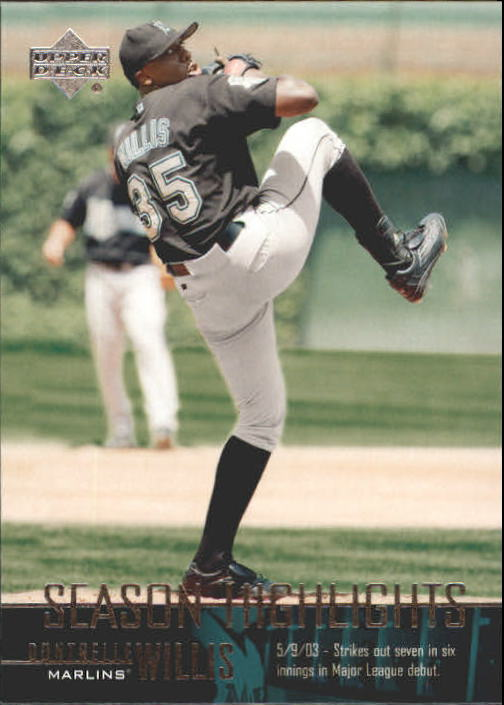 2004 Upper Deck #263 Dontrelle Willis SH CL front image