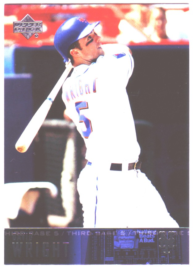 2004 Upper Deck #561 David Wright front image