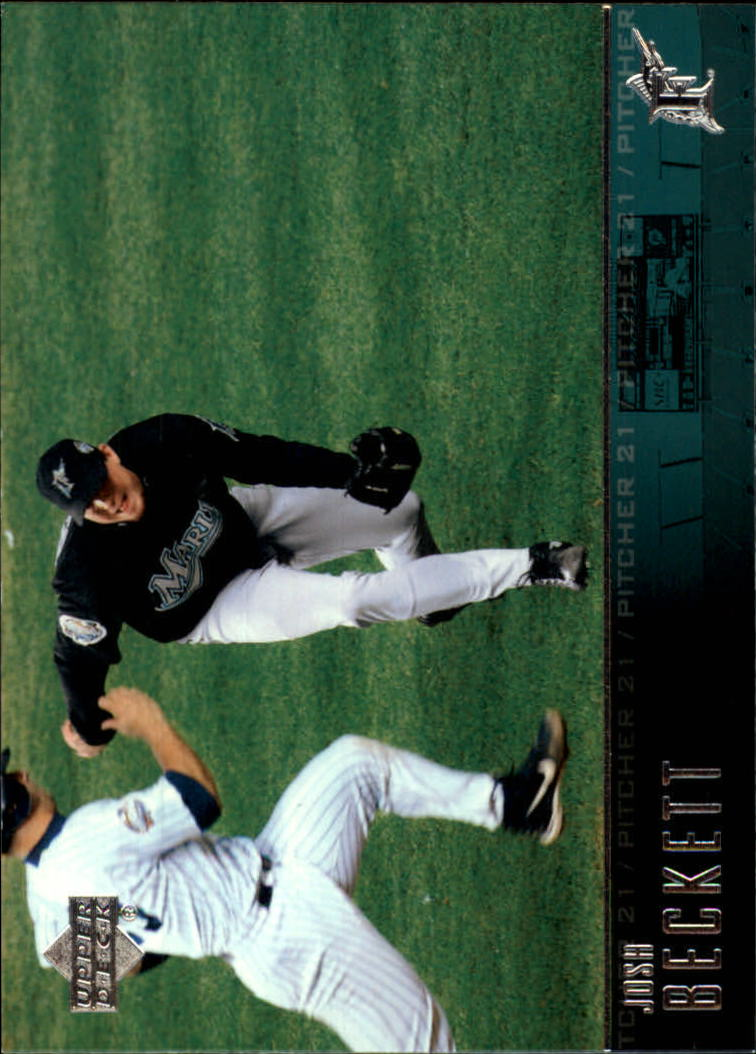 2004 Upper Deck Glossy #353 Josh Beckett
