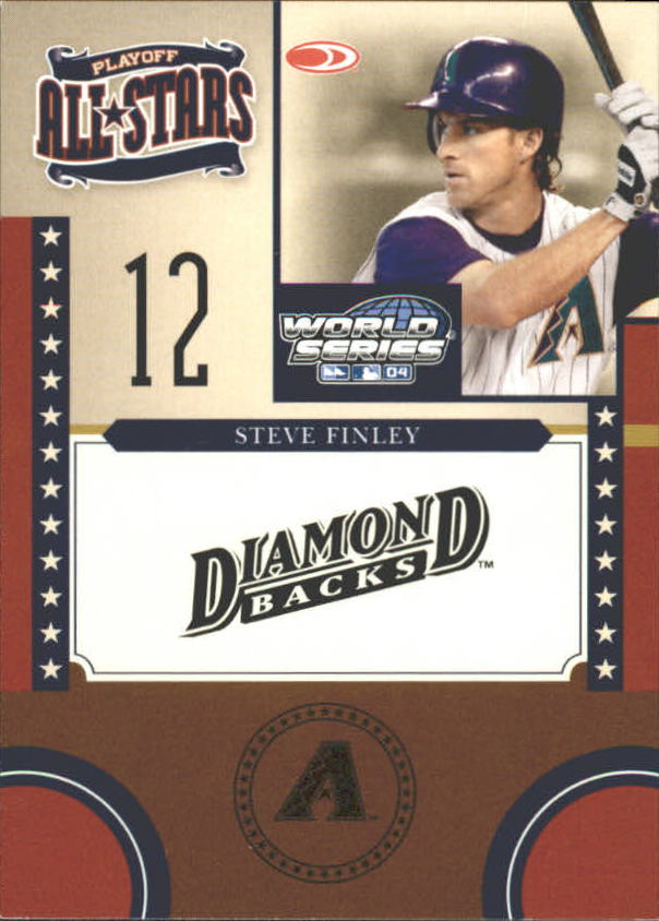 2004 Donruss World Series Playoff All-Stars #3 Steve Finley