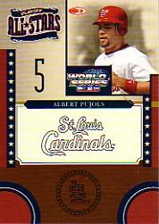 2004 Donruss World Series Playoff All-Stars #11 Albert Pujols