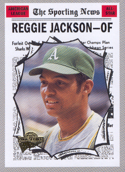 2004 Topps All-Time Fan Favorites #5 Reggie Jackson