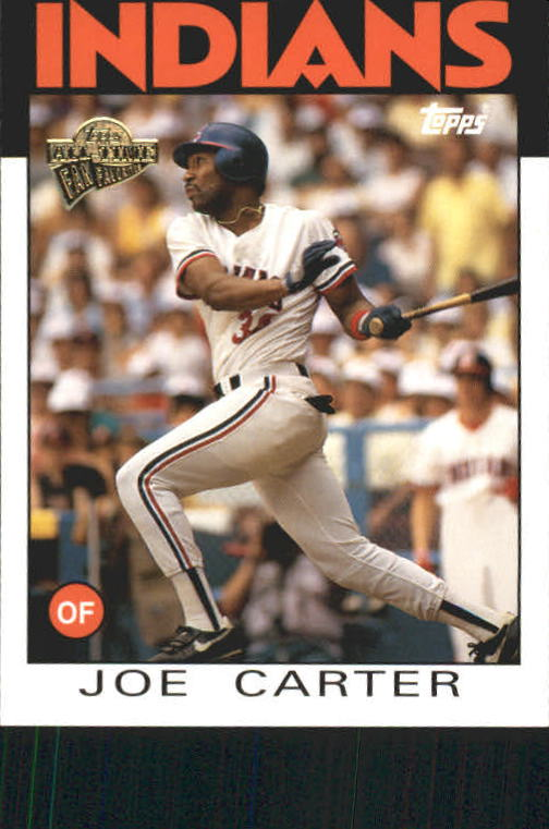 2004 Topps All-Time Fan Favorites #13 Joe Carter