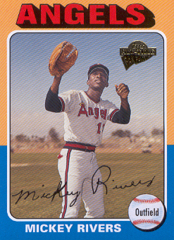 2004 Topps All-Time Fan Favorites #18 Mickey Rivers