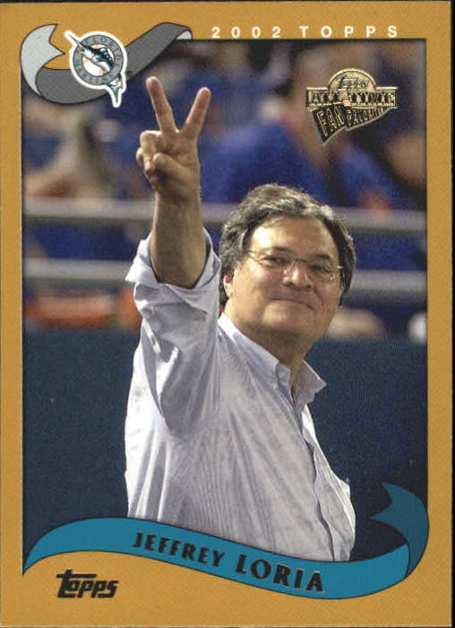 2004 Topps All-Time Fan Favorites #24 Jeffrey Loria OWNER
