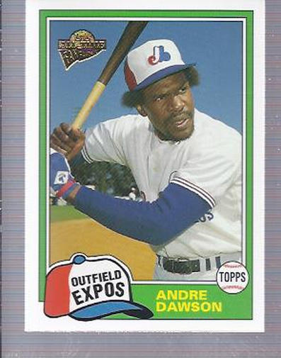 2004 Topps All-Time Fan Favorites #29 Andre Dawson