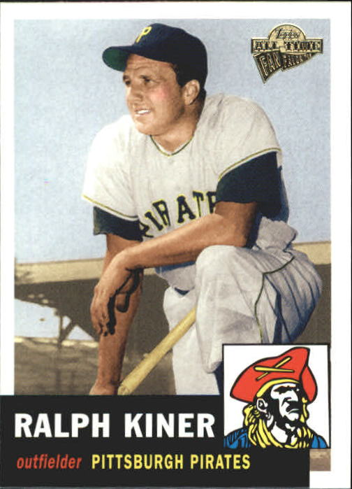 2004 Topps All-Time Fan Favorites #31 Ralph Kiner