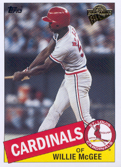 2004 Topps All-Time Fan Favorites #35 Willie McGee