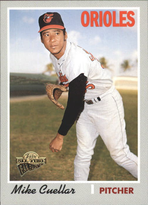 2004 Topps All-Time Fan Favorites #42 Mike Cuellar