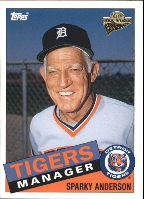 2004 Topps All-Time Fan Favorites #46 Sparky Anderson