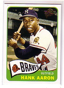 2004 Topps All-Time Fan Favorites #50 Hank Aaron front image