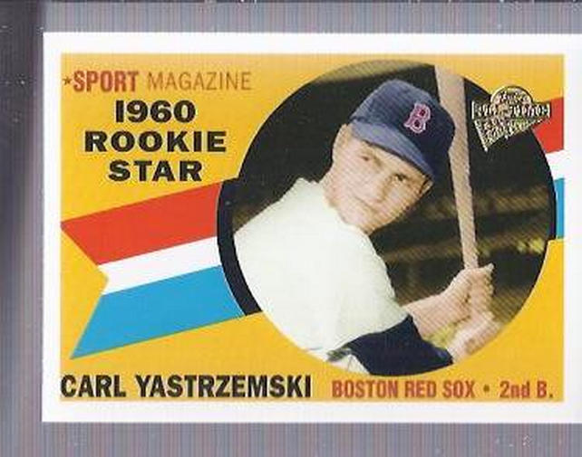 2004 Topps All-Time Fan Favorites #75 Carl Yastrzemski
