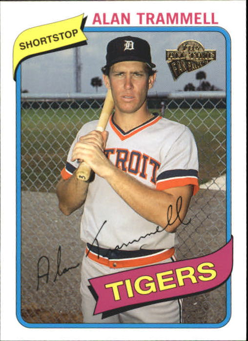 2004 Topps All-Time Fan Favorites #84 Alan Trammell