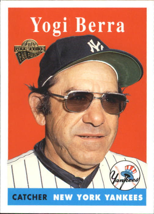 2004 Topps All-Time Fan Favorites #90 Yogi Berra