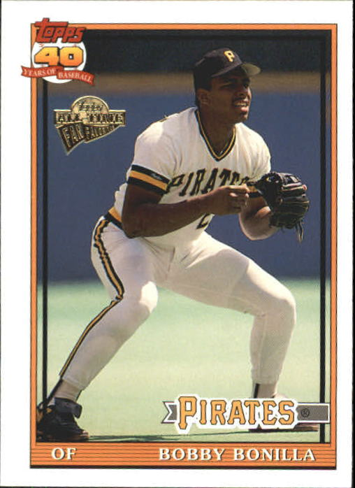 2004 Topps All-Time Fan Favorites #92 Bobby Bonilla