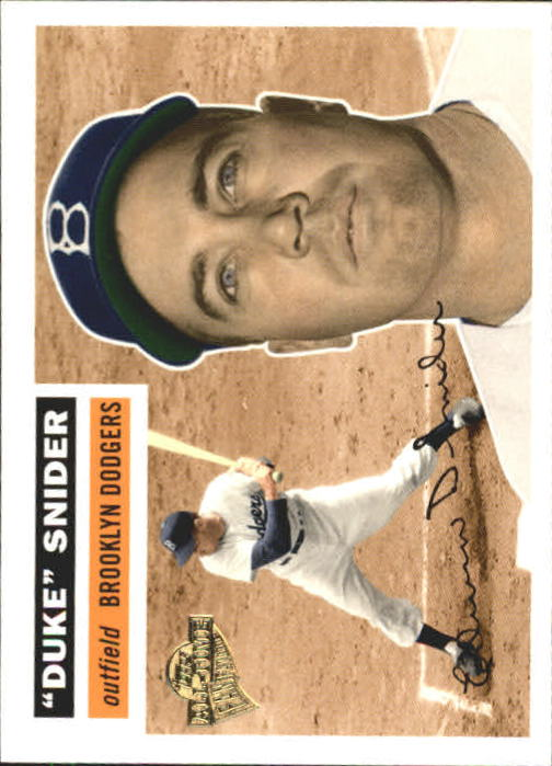 2004 Topps All-Time Fan Favorites #120 Duke Snider