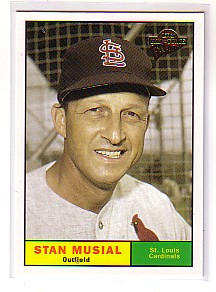 2004 Topps All-Time Fan Favorites #125 Stan Musial