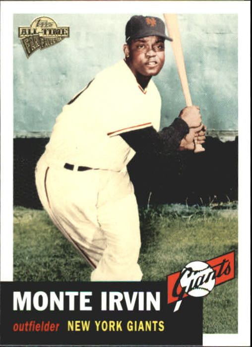 2004 Topps All-Time Fan Favorites #132 Monte Irvin