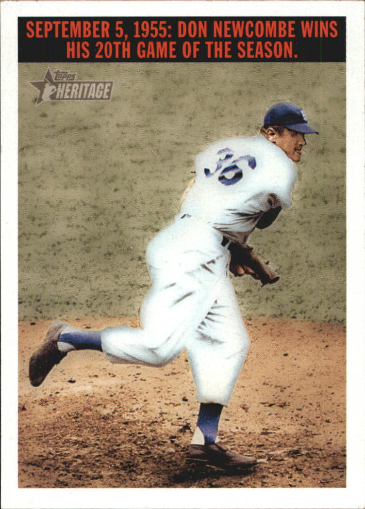 2004 Topps Heritage Flashbacks #F3 Don Newcombe